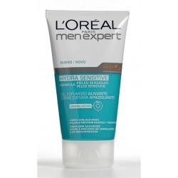 L'Oréal Homem - Gel Espumoso Aliviante Peles Sensíveis