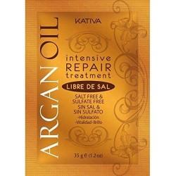 KATIVA | ARGAN OIL - Tratamento Intensivo Reparador S/Sal, 35g
