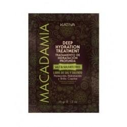 KATIVA | MACADAMIA - Tratamento Hidratação Profunda S/Sal, 35g